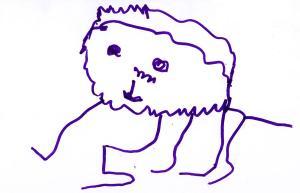 jj lion monster_1jpg - Drawing Pictures For Kindergarten